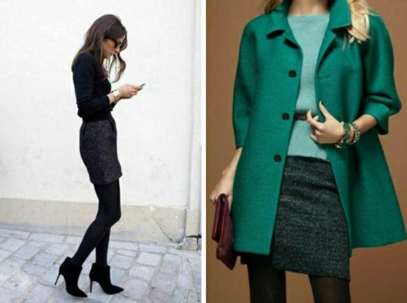 Dresscode Business Casual Frauen zwei Varianten farbige Akzente