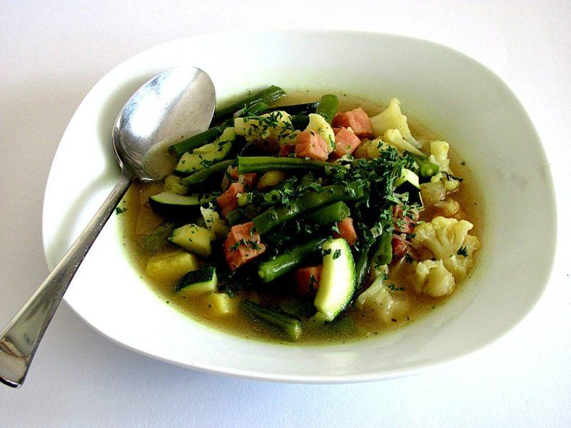 Karfreitag Essen Rezepte grüne Gemüsesuppe