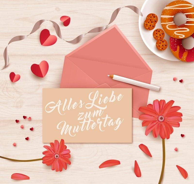Grusskarte zum Muttertag Ideen und Inspirationen