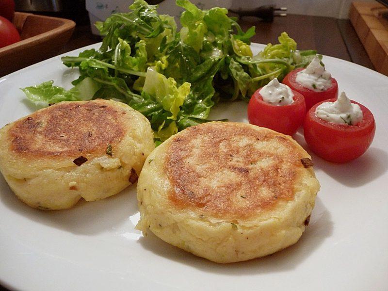 Karfreitag Essen Kartoffelfrikadellen