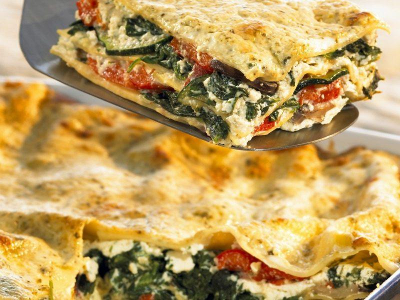 Karfreitag Bedeutung und Rezepte Lasagne vegetarisch