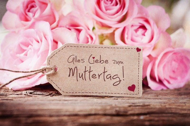 Grusskarte alles Liebe zum Muttertag