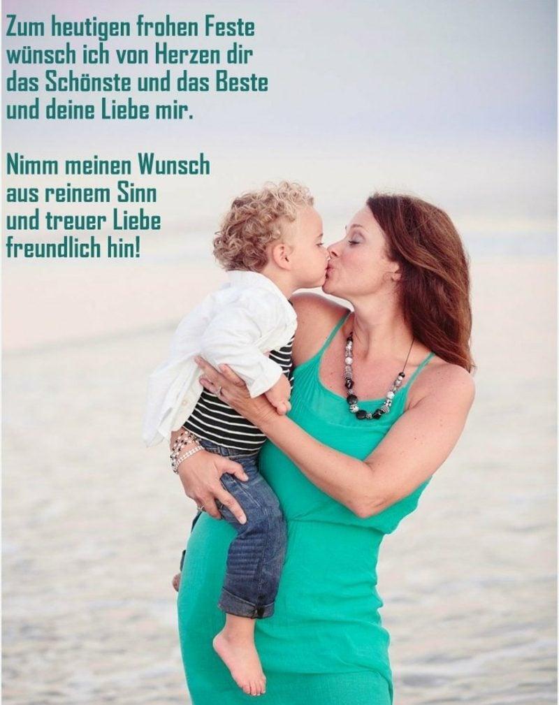 Muttertagssprüche und Gedichte lustig