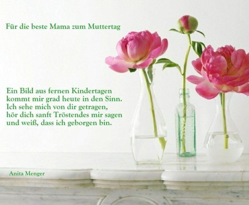 Sprüche zum Muttertag Erinnerungen an die Kindheit