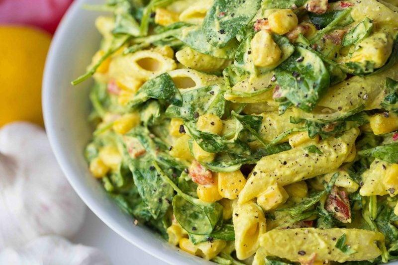 Karfreitag Bedeutung Rezepte vegetarisch Nudelsalat