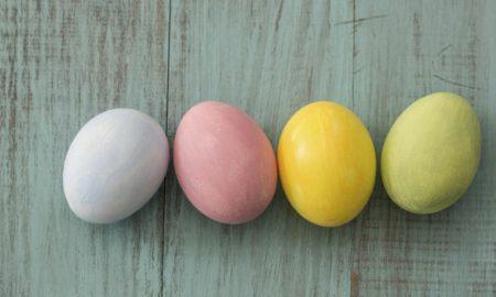 Ostereier färben herrlicher Look Naturfarben