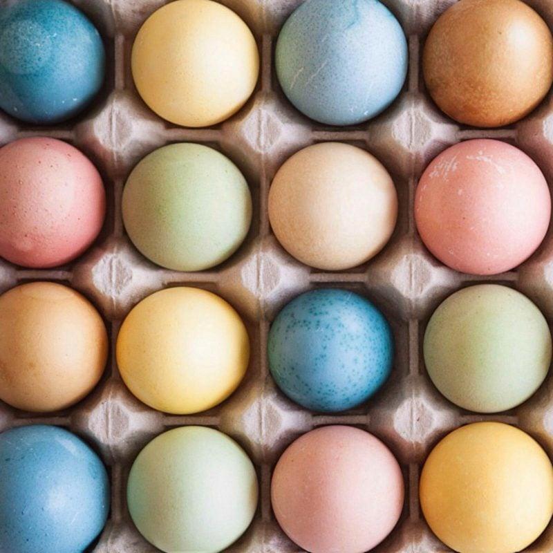 Ostereier färben Naturfarben selber herstellen