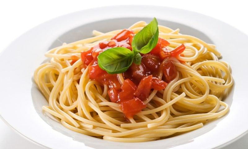 Karfreitag Feiertag Rezepte Pasta mit Tomatensosse