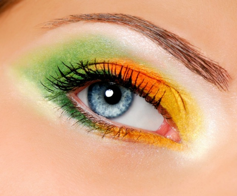 Augen Make-up Sommer moderne Ideen