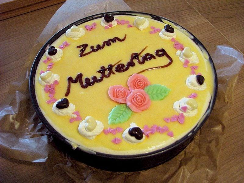 Backen zum Muttertag spezielle Torte