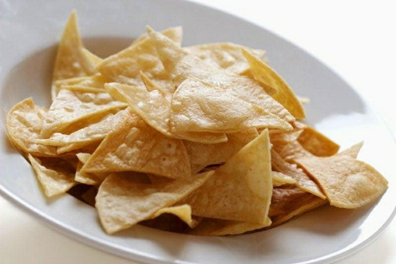 Tortilla Rezept spanisch Tortilla Chips