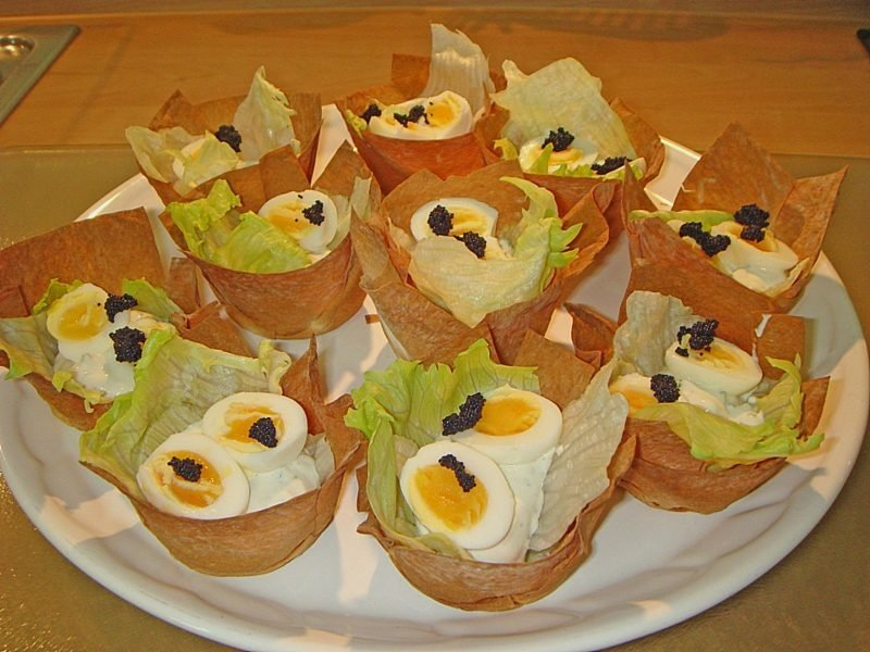 wie lange Wachteleier kochen originelle Rezepte Fingerfood Party