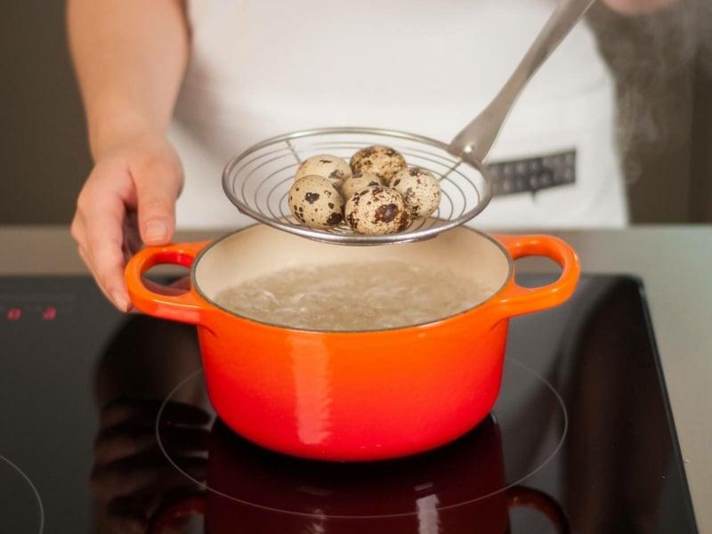 Wachteleier kochen wie lange
