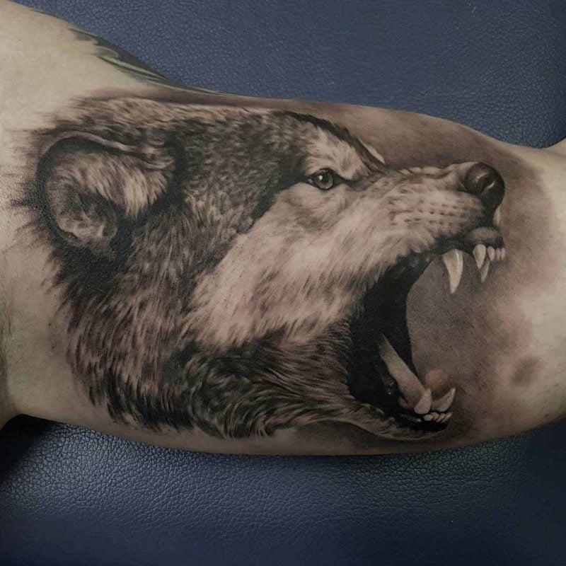 Tattoo Wolf - 60 inspirierende Ideen für Männer und Frauen - Tattoos ...