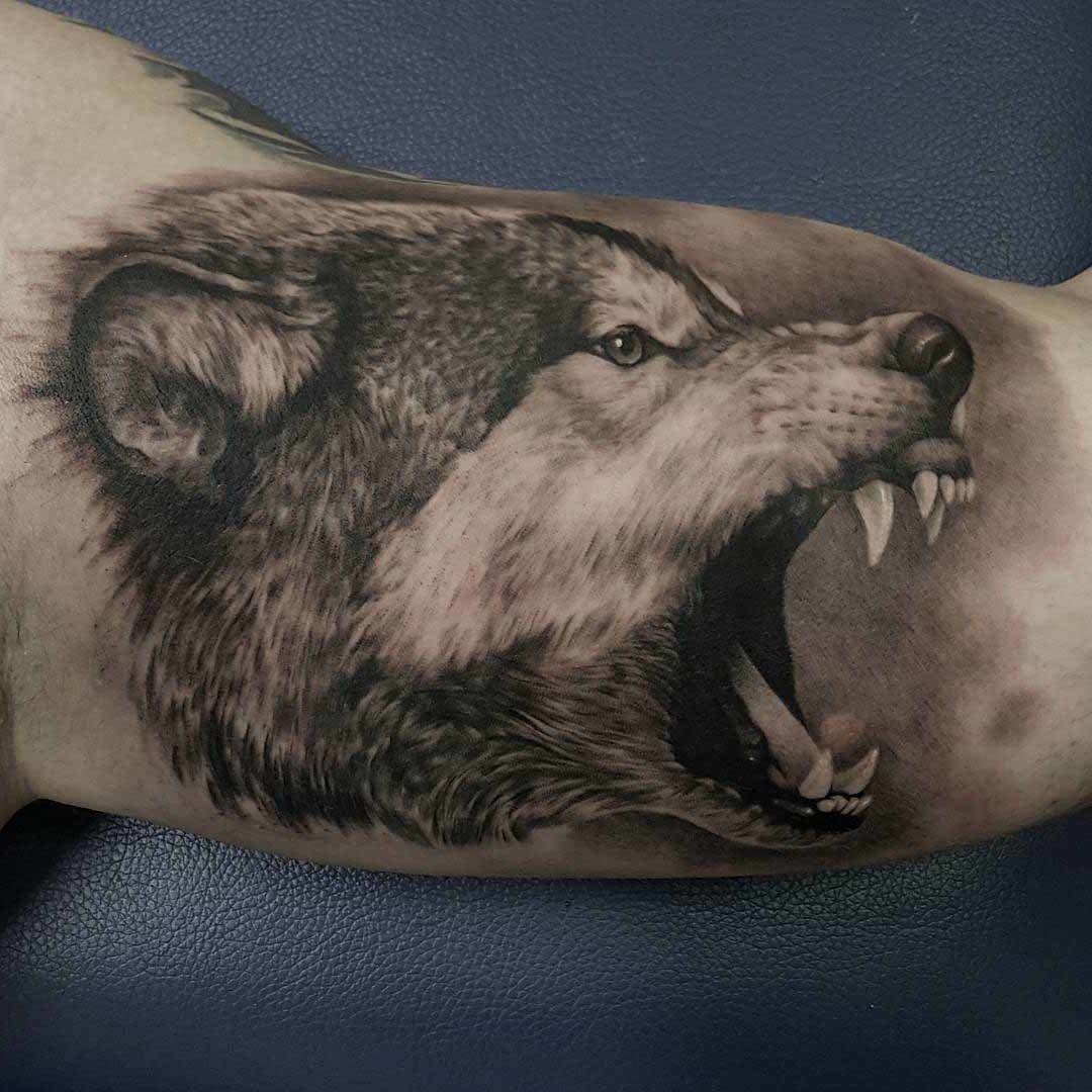 Ansprechend Tattoo Idee Frau Ideen Von Ideen Wolf Männer Frauen Tattoos
