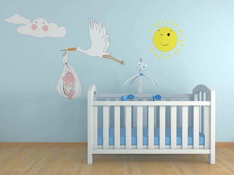 Babyzimmer Gestalten Babywiege Anleitung Und 40 Tolle Ideen Diy