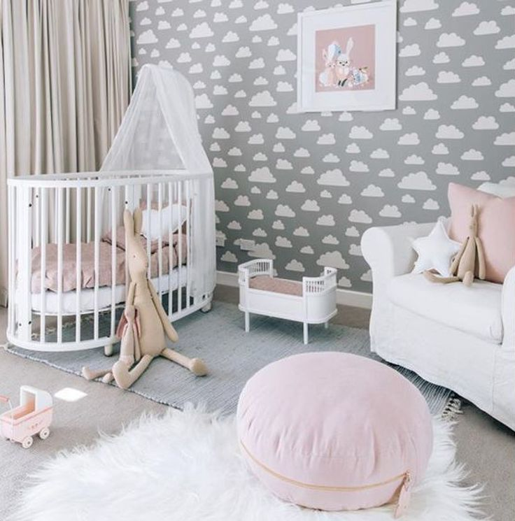 babyzimmer gestalten babywiege anleitung und 40 tolle. Black Bedroom Furniture Sets. Home Design Ideas