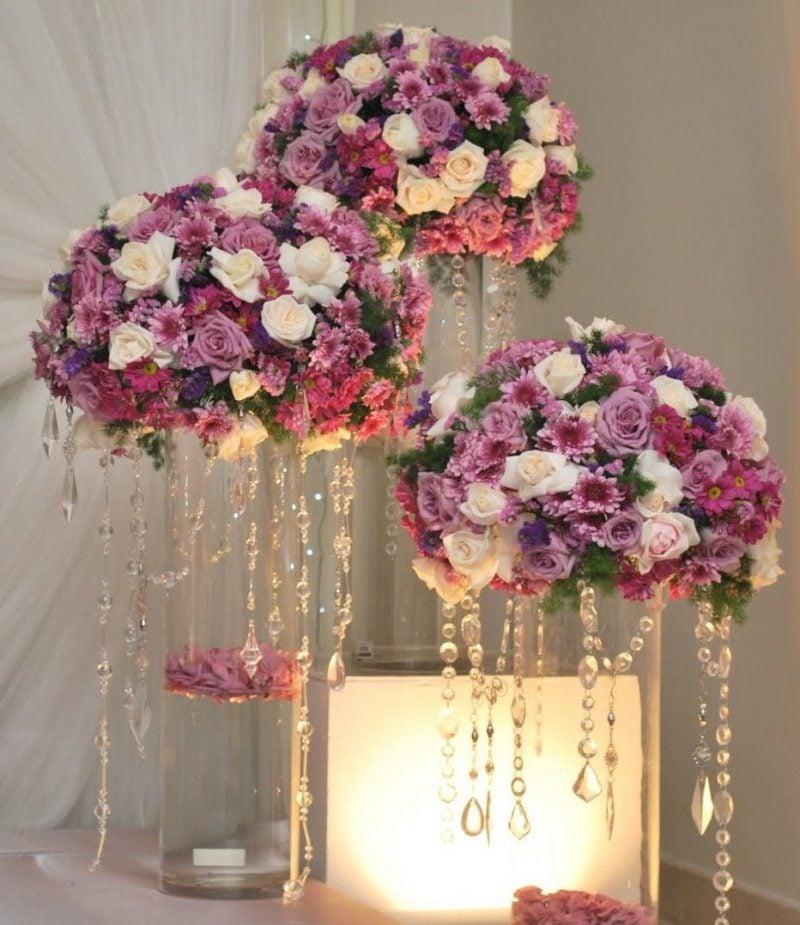 Blumen Deko blumendeko hochzeit 60 inspirierende vorschläge deko feiern