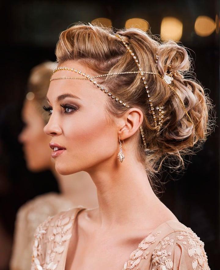 brautfrisuren 2017 bridal beauty hairstyles pinterest 47. Black Bedroom Furniture Sets. Home Design Ideas