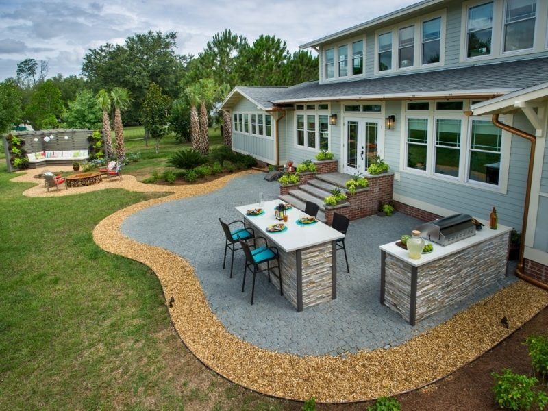 Terrasse bauen anleitung und 20 kreative design ideen for Diy home design ideas landscape backyard