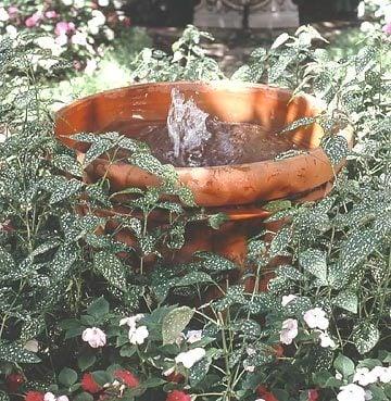 garten gestalten ideen springbrunnen anleitung gartengestaltung gartendeko selber machen