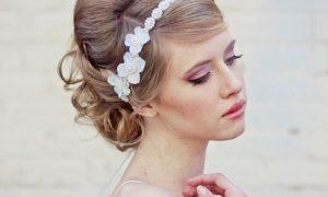 Frisuren mit Haarband Braut