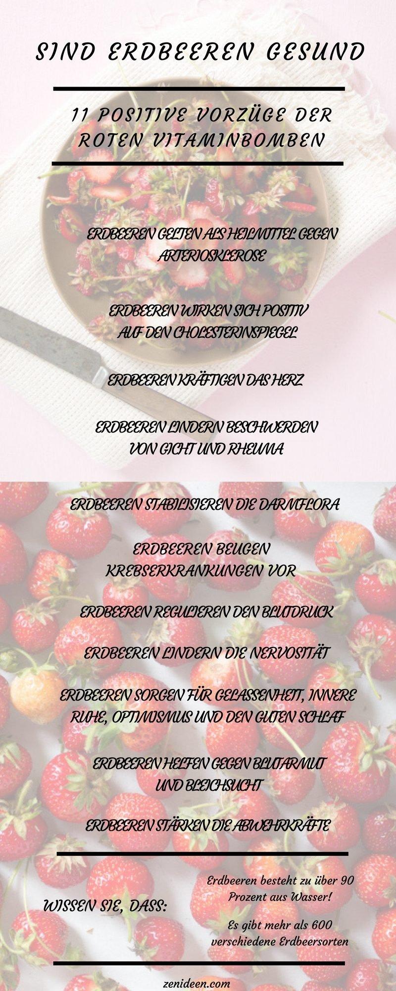 erdbeeren gesund erdbeeren nährwerte erdbeeren kohlenhydrate