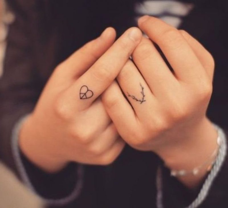 Finger Tattoo Ideen