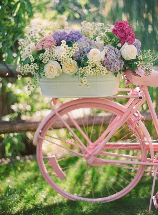 Gartendeko 45 tolle ideen zum kaufen und selbermachen - Gartendeko fahrrad ...