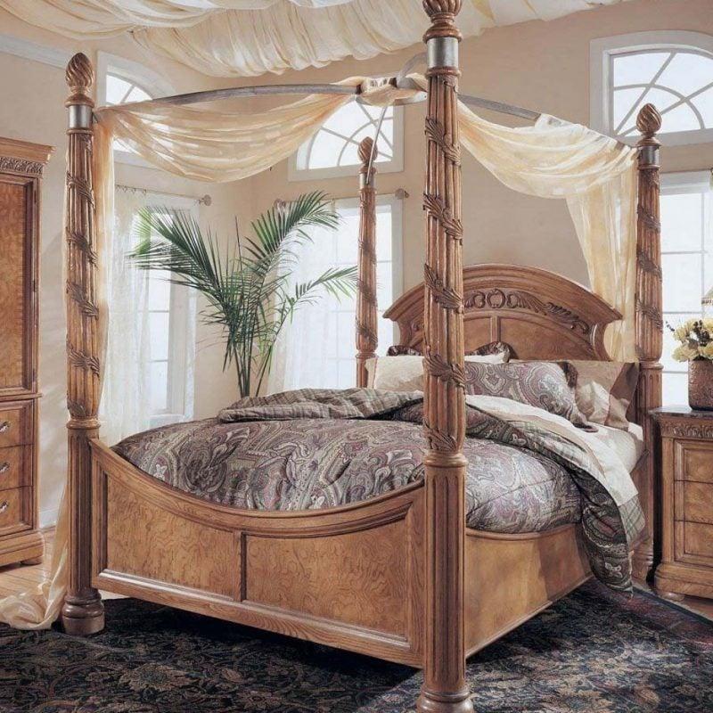 Luxus schlafzimmer mit himmelbett  Schlafzimmer Ideen - Himmelbett Anleitung und 42 weitere ...