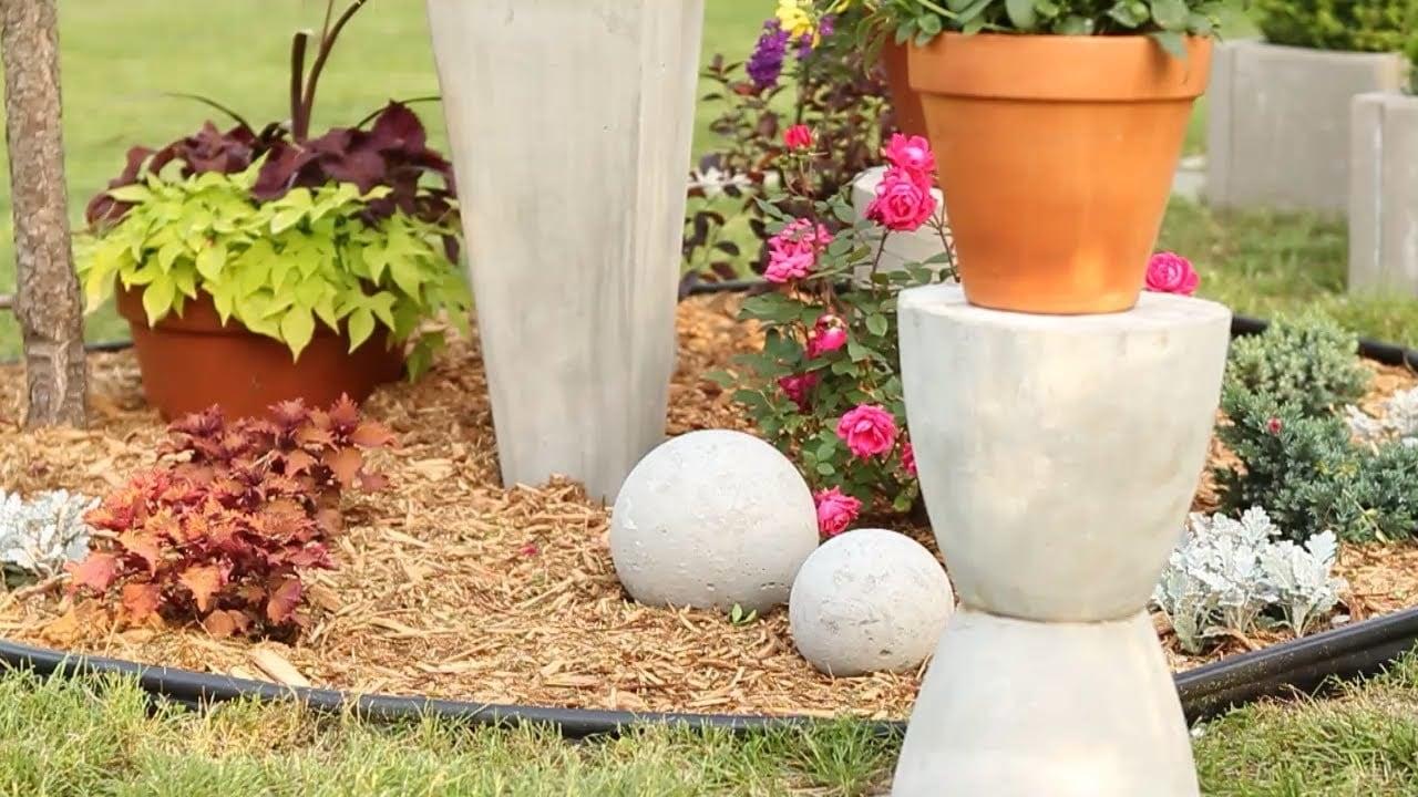 Gartengestaltung Mit Beton originelle gartengestaltung verwandeln sie beton in eine schöne