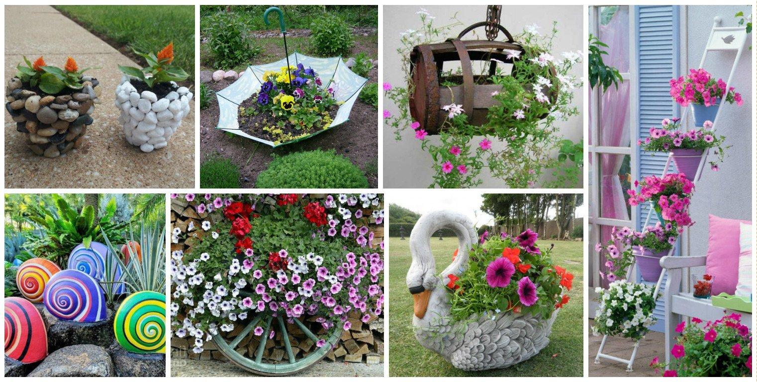 Gartendeko 45 tolle ideen zum kaufen und selbermachen for Ausgefallene deko garten