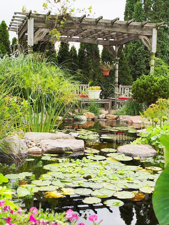Teich anlegen anleitung oder wie sie ihr gartenparadies for Gartenteich ideen