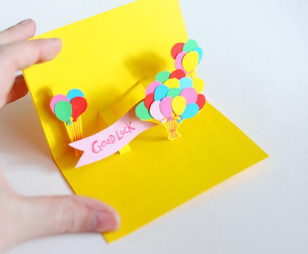 Geburtstagskarten Basteln Pop Up Karte Recycling Basteln 63