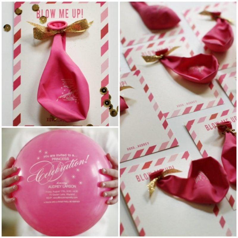 Geburtstagskarten bastlen mit Luftballon