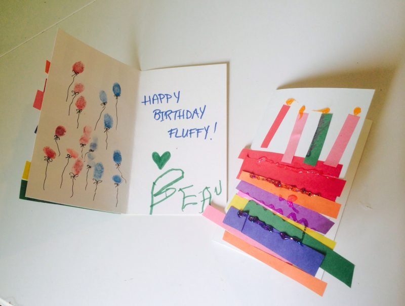 geburtstagskarten basteln pop up karte recycling basteln. Black Bedroom Furniture Sets. Home Design Ideas