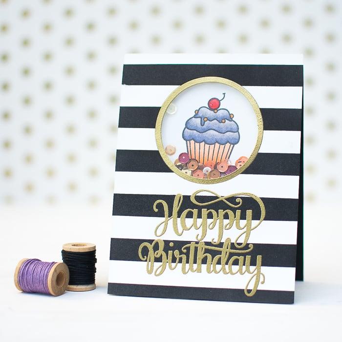 Geburtstagskarte selber machen
