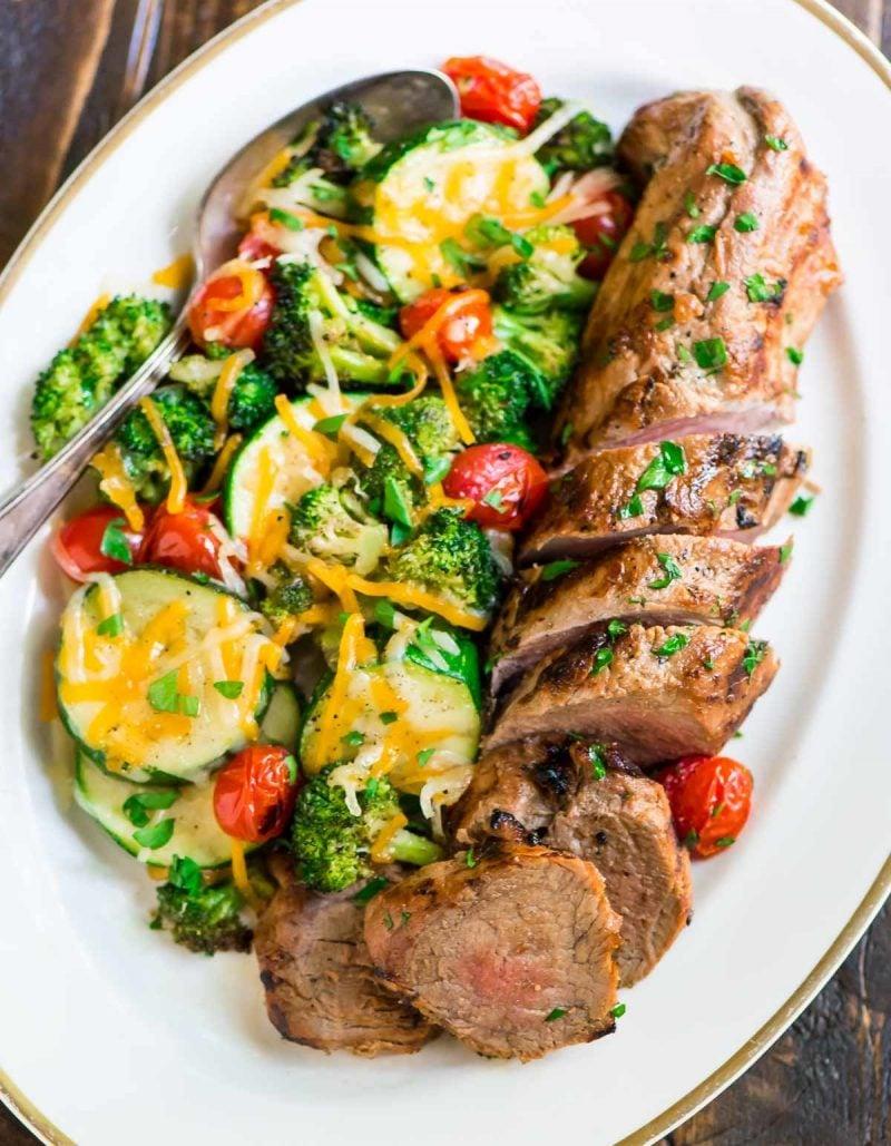 Gesunde Rezepte zum Abnehmen - Salat