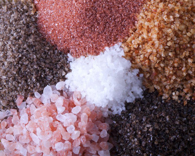 Entdecken Sie das Salz von Natur bis zu exotischen Ausführungen