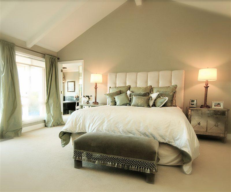 Schlafzimmer gestalten - prachtvolle Wandgestaltung schaffen ...
