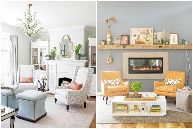 wohnzimmergestaltung mit farben und bildern 70 frische