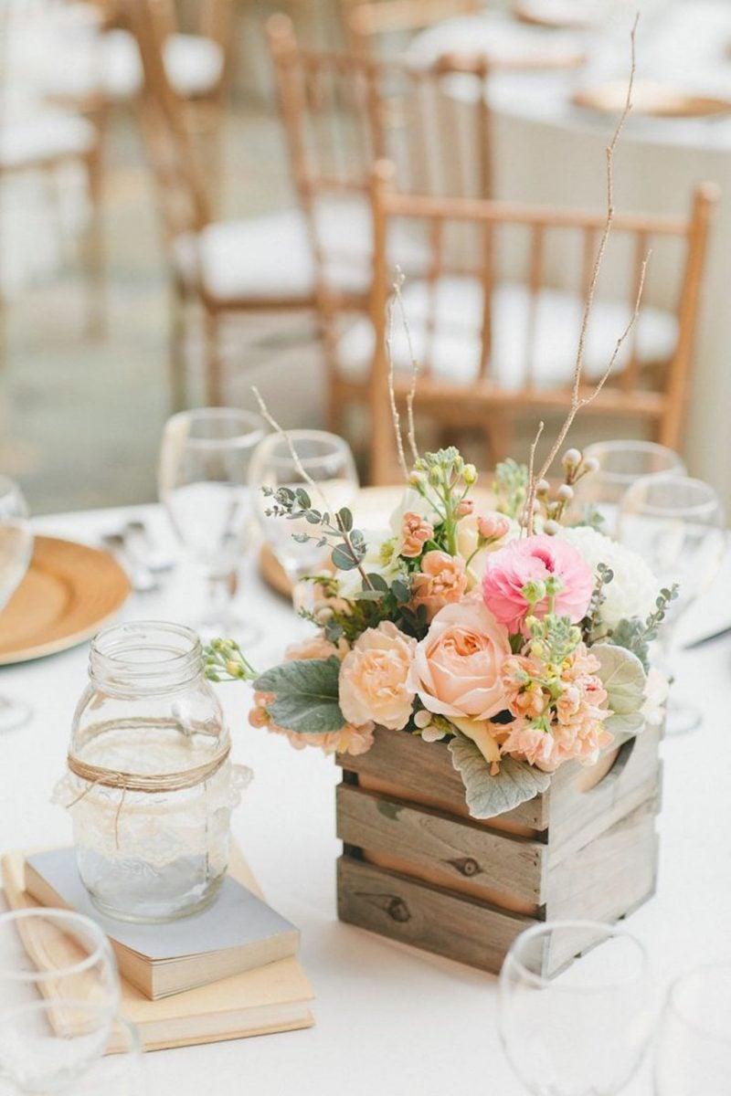 Blumendeko hochzeit 60 inspirierende vorschl ge deko for Tischdeko hochzeit holz