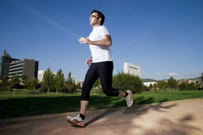 Joggen anfangen sich fit und gesund halten