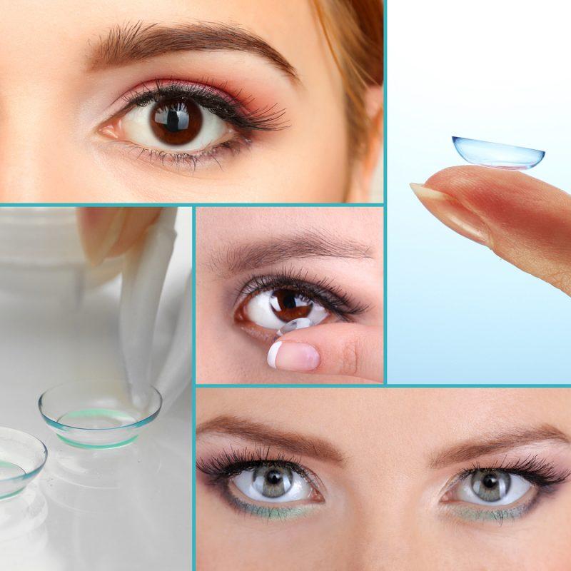 Kontaktlinsen Arten - Farblinsen