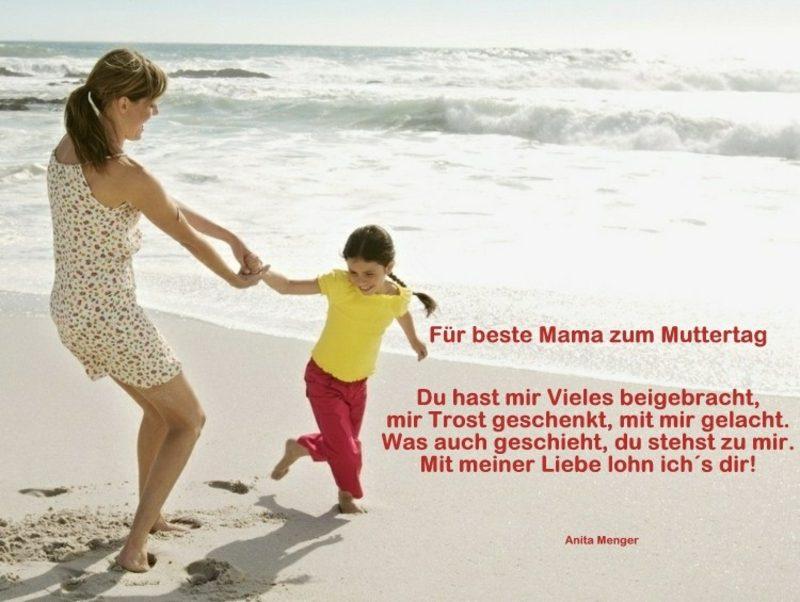 kurze Gedichte und Sprüche zum Muttertag
