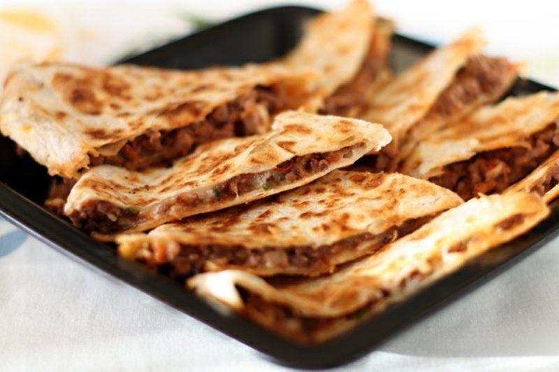 Tortilla Rezept leckere Tortillas mit Fleisch