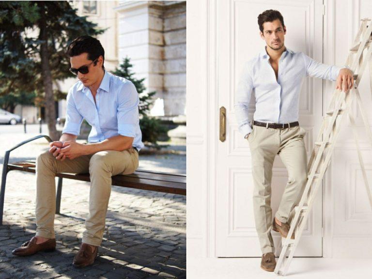 Business casual dresscode men