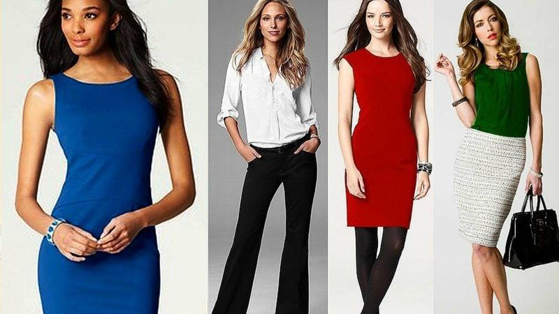 Business Casual Outfit für Damen 4 Visionen