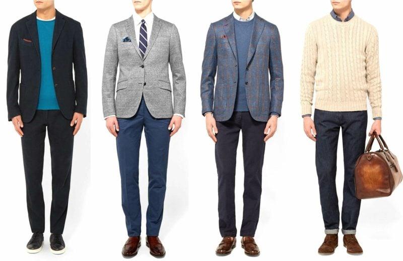 Business Casual Outfit Ideen für Herren