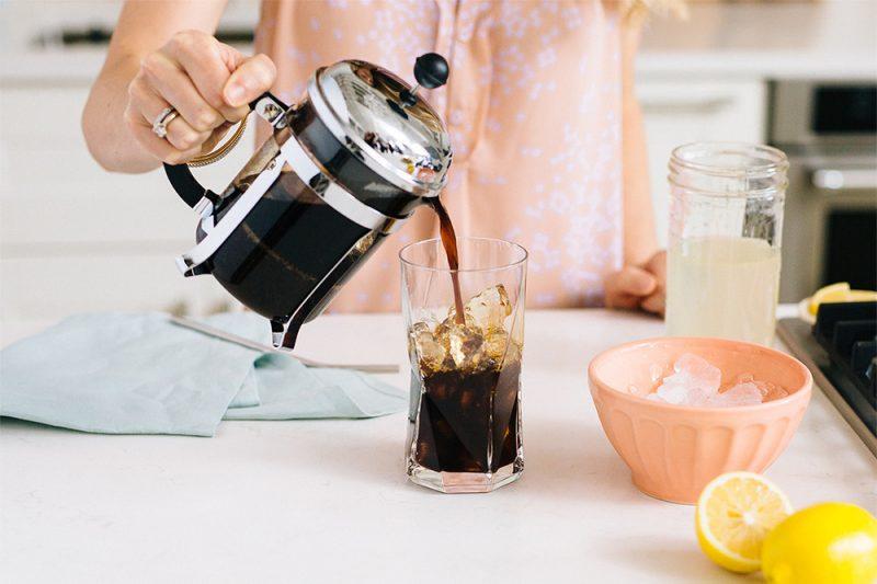 Kaffee Limonade selber machen - Zubereitung